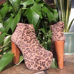 Jeffrey Campbell Leopard Lita's